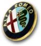 Alfa Romeo embleem grill Alfa 166
