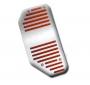 Appoggiapiede Sportivo 147/GT red