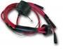 Spark plug cable set