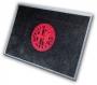 Door mat big (red logo Milano)