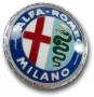 Embleem Alfa Romeo Milano (plastic)