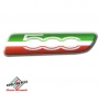 FIAT 500 badge zijkant Italia