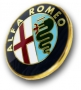 Kofferbak embleem Alfa GT / Alfa 147 vast