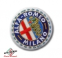 Opnaai embleem Alfa Romeo Milano