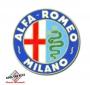 Sticker Alfa Romeo Milano 220 mm