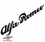 Sticker Alfa Romeo script zwart 60x315mm