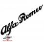 Sticker Alfa Romeo script zwart 60x315mm