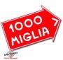 Sticker Mille Miglia (groot)
