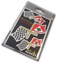 Stickers QV/Checkered flag