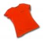 T-Shirt rood (dames) L